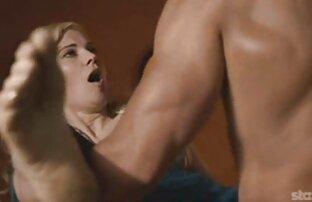 Blonde է simulator հետո բռնցքամարտի վերապատրաստման. տաք սեքս խողովակներ