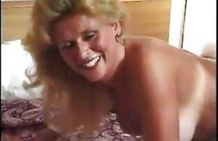 Blonde առջեւ տեսախցիկի ռետրո սեքս